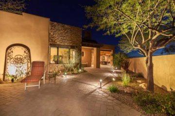 Outdoor Landscape Lighting Installation